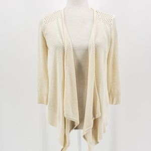 American Eagle off-white cardigan sweater Small